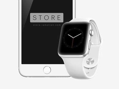 Apple Watch Mockup [PSD] ramotion appliaction app free mock-up download render device psd photoshop template mockup apple watch