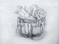 Bag app icon sketch
