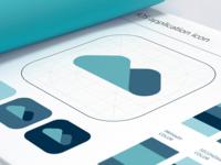 Brandbook App Branding - Icon Page