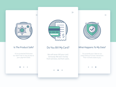 Onboarding Illustrations brand drawn illustration user experience prototype signup interaction design ux ui registration subscriptions explanation tour app explainer graphics android material design finance managment product ios iphone application security payment system safe banking icon credit card icons