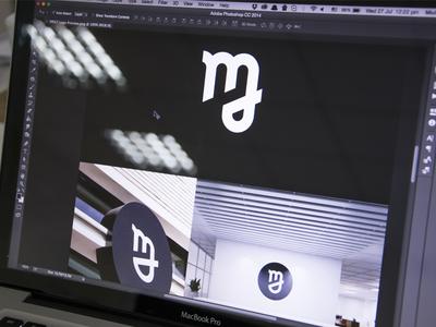 Exploring the M sign symbol mark logotype startup application app icon visual identity brand book brandbook branding logo