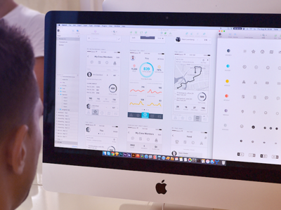 Insurance App Design Process analytics graphics location map style guide ui kit sketch insurance app prototype wireframes design working process ios application mac os user experience flow ux ui