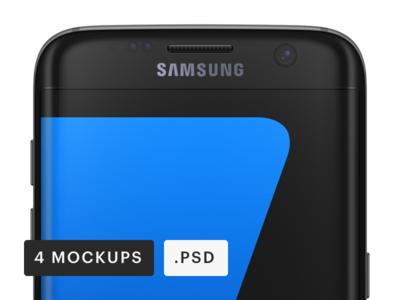 Samsung Galaxy Android Mockup [PSD]