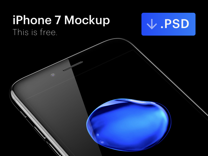 iPhone 7 Mockup [PSD] appstore vector iphone mockup devices photoshop 8 ux ui templates best iphone 7 mockups download device template jet black psd mobile application marketing interface design ios device angle google a9 app free perspective render
