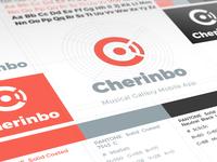 Branding For Cherinbo - Musical Gallery App