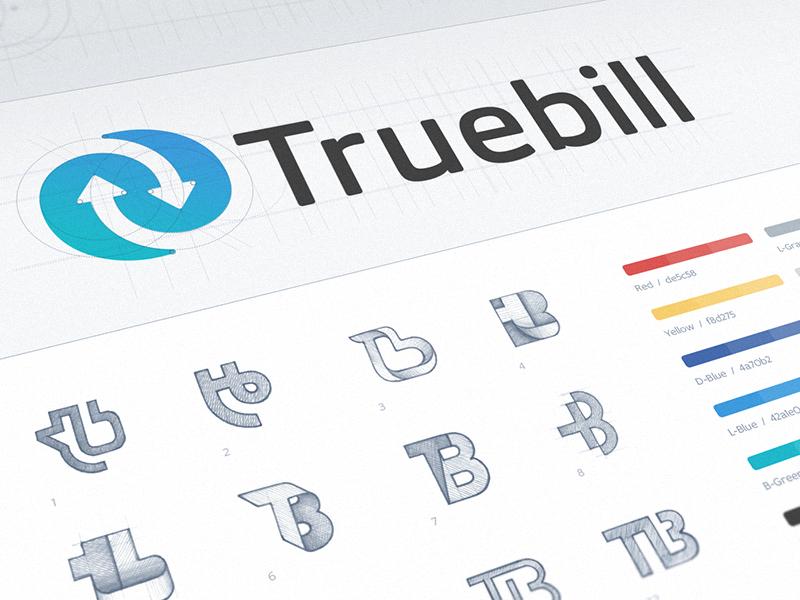 Truebill branding ramotion design