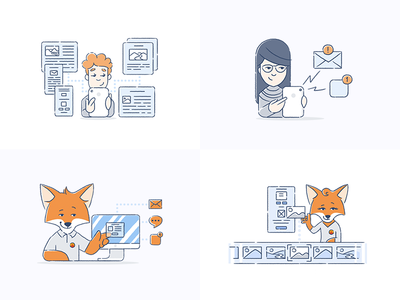 Brand Character Illustrations