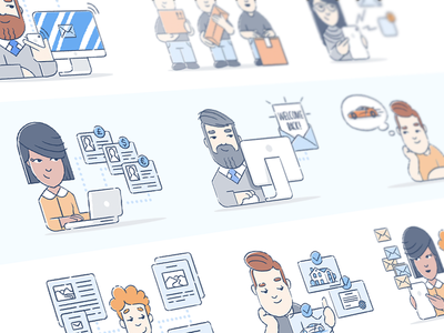 Brand Illustration Set