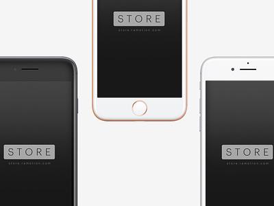 iPhone 8 Mockup ramotion ui download freebie free clay sketch psd mock-up mockup phone iphone 8 iphone
