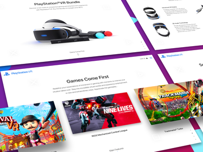 Web Design Process landing page exploration retail store website virtual reality device simple user interface wearable technology section clean responsive layout preorder online purchase innovative gaming headset ecommerce web site virtual reality system ux ui design vr camera hardware