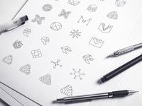 Mobingi Logo Sketches