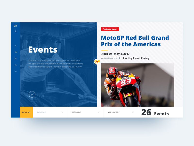 Aap events web