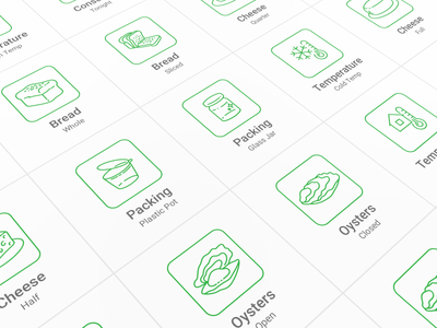 Food Delivery Pictogram Set app workflow pictogram set clean interface icons mobile app experience stroke outline style food delivery application mobile app design user experience user interaction user interface ux ui workflow