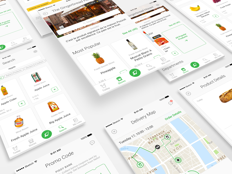 Nelio mobile app design ramotion