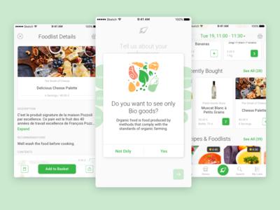 Nelio App UI Elements