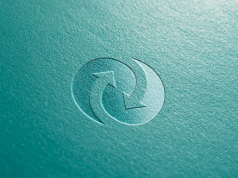 Truebill app logo sign ramotion