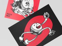 Pixty Robot Sketches