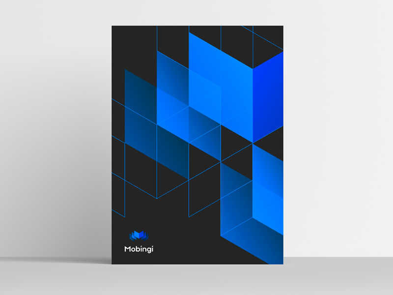 Mobingi Brand Assets geometrical shapes style guide branding ramotion logotype sign work logo mark design brand pattern poster identity brandbook logo icon brand company assets final result delivery branding shapes
