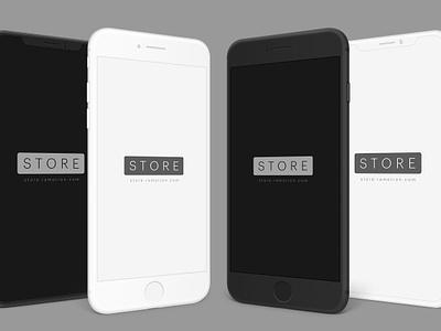 iPhone Clay Mockup ramotion ui download freebie free sketch psd clay phone iphone 8 iphone x iphone