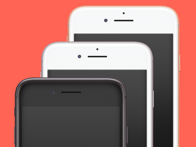 iPhone 8 Mockup ramotion download freebie free mock-up mockup phone psd iphone 8 iphone ui