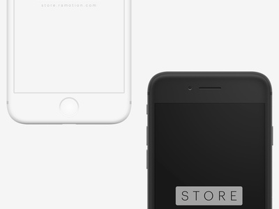 iPhone Clay Mockup ramotion ui download freebie free clay mock-up mockup sketch psd phone iphone x iphone