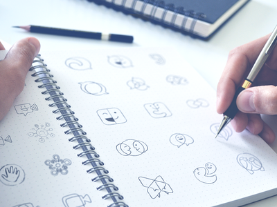 Hand-drawn Logo Options
