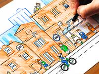 Hand-drawn Illustration WIP