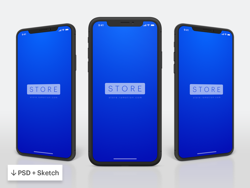 iPhone Mockup phone clay ui download freebie free sketch psd mock-up mockup iphone x iphone