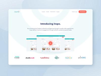 InspoNetwork Marketing Website