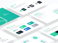 Kyber network branding guide ramotion