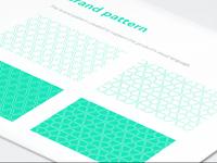 Kyber network branding patterns ramotion