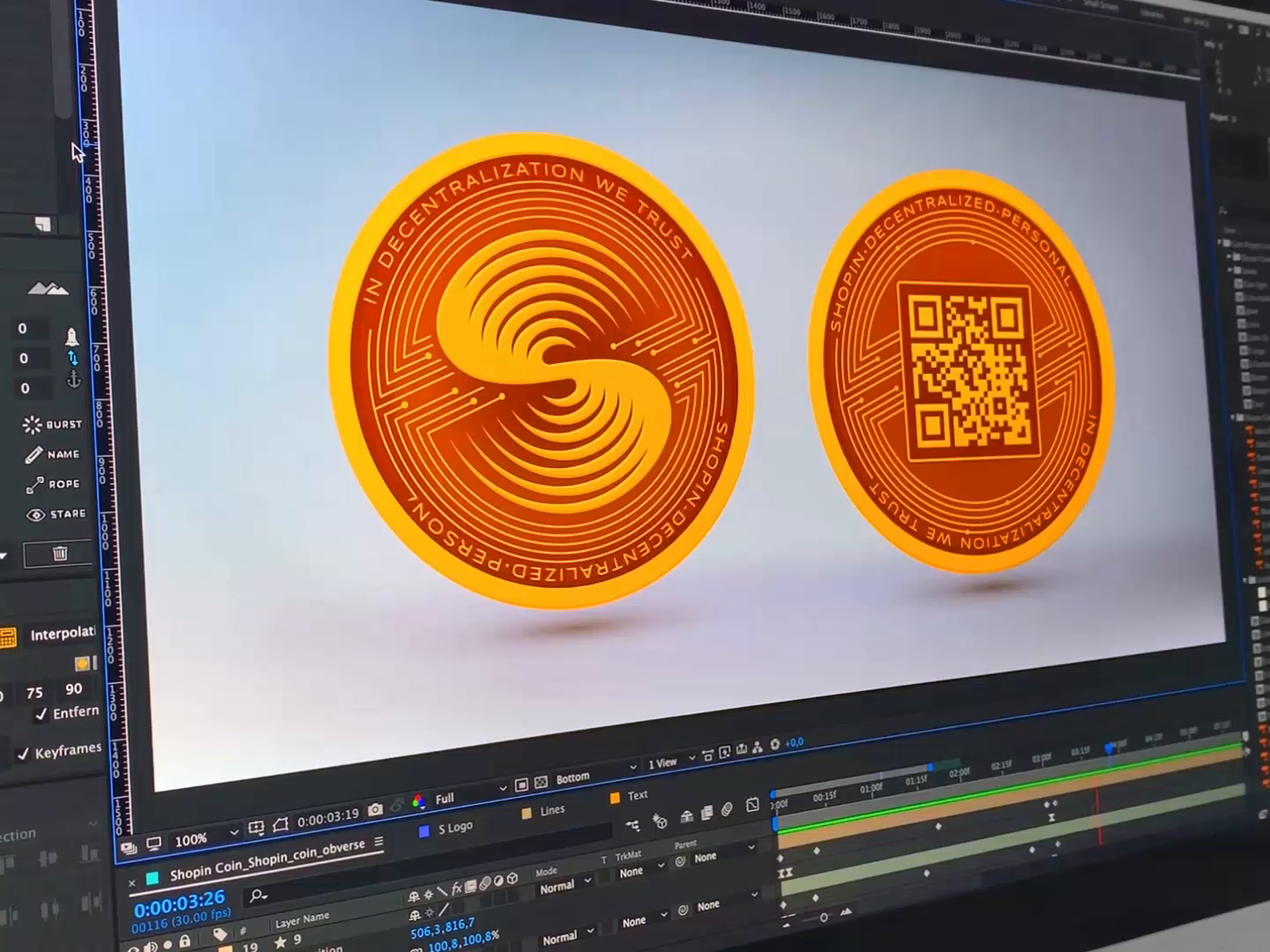 Shopin coin action in ae