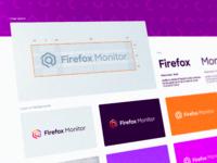Firefox monitor branding grid