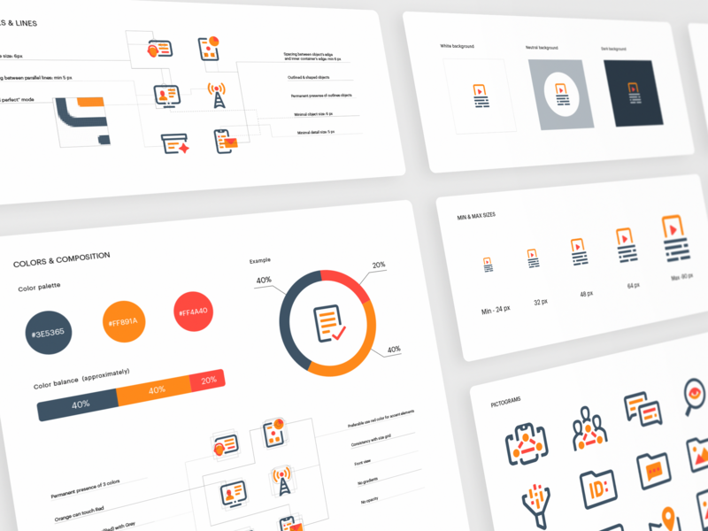 Cellebrite Pictogram System design system styleguide icon set iconography graphic concept illustration art logo app icon illustrative set design exploration static illustrations design simple illustration metaphor branding exploration branded shapes guidelines