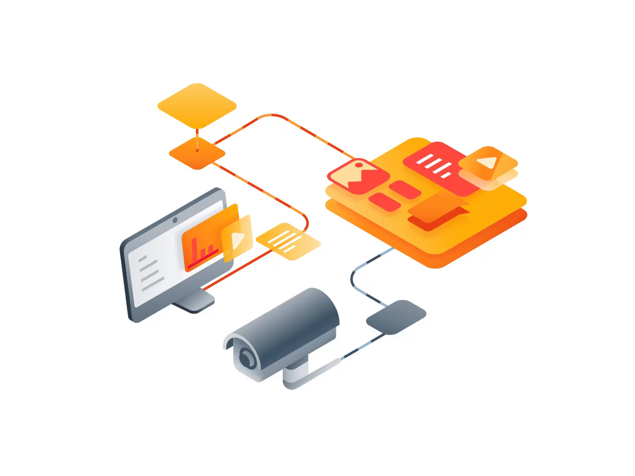 Cellebrite Illustrations - pt  2 by Ramotion on Dribbble