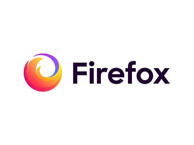 Official Firefox Rebrand illustration branding agency revamp rebrand design system visual identity brand brand identity logo animation ui design logo branding