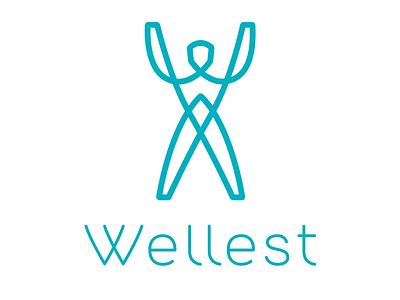 Wellest Logo Animation illustration ui linework line art sports branding sports design sports logo fitness logo fitness app sport logo animation brand brand identity branding logo fitness