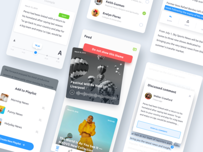 News App Mobile Design