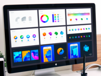 Firefox Rebranding: Behind The Scene design system guideline mockup brand identity design ramotion branding design brand identity color scheme ui design firefox branding