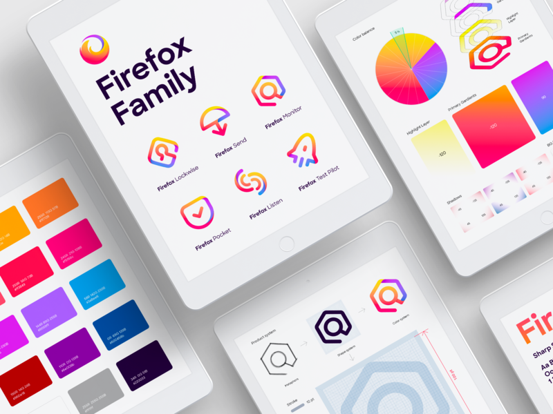 Firefox family identity guide