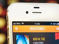 Gratitude 365 iPhone App
