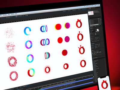 Designing Motion Identity for Opera exploration logo branding agency branding design brand identity styleguide branding