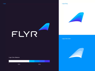 FLYR Brand Assets bright colors visual styleguide visual identity brandbook typography grid user interface ui website logo design typeface font family style guide typography grid structure logomark logo construction brandbook grid logotype brand identity design logo branding grid