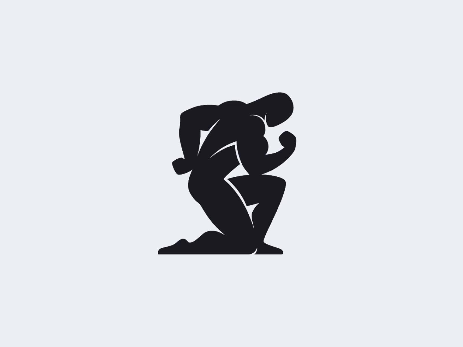 Athletic logo animation