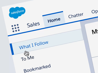 Salesforce UI Choreography Guidelines
