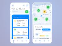 Mobile App Concept – Logistics and transportation