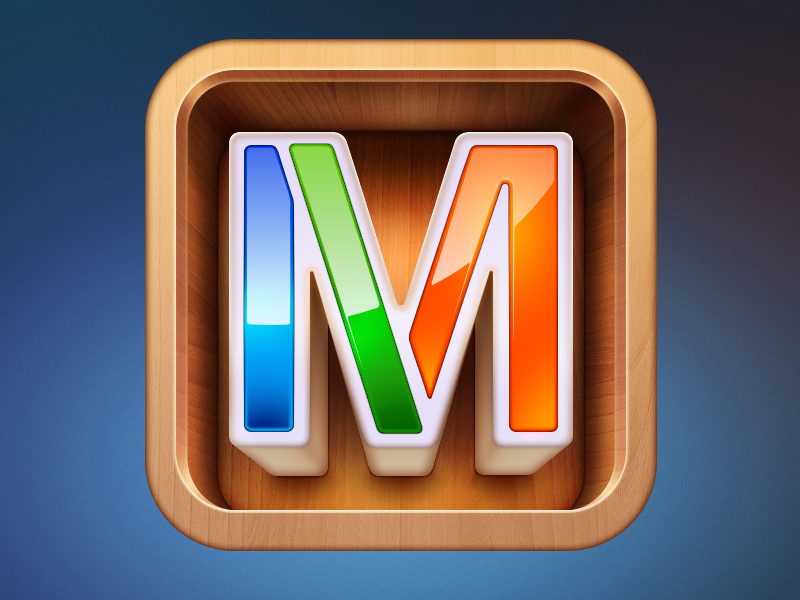 Mixel icon by Ramotion on Dribbble
