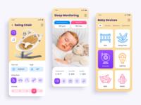 Mobile App Concept: Baby Tech