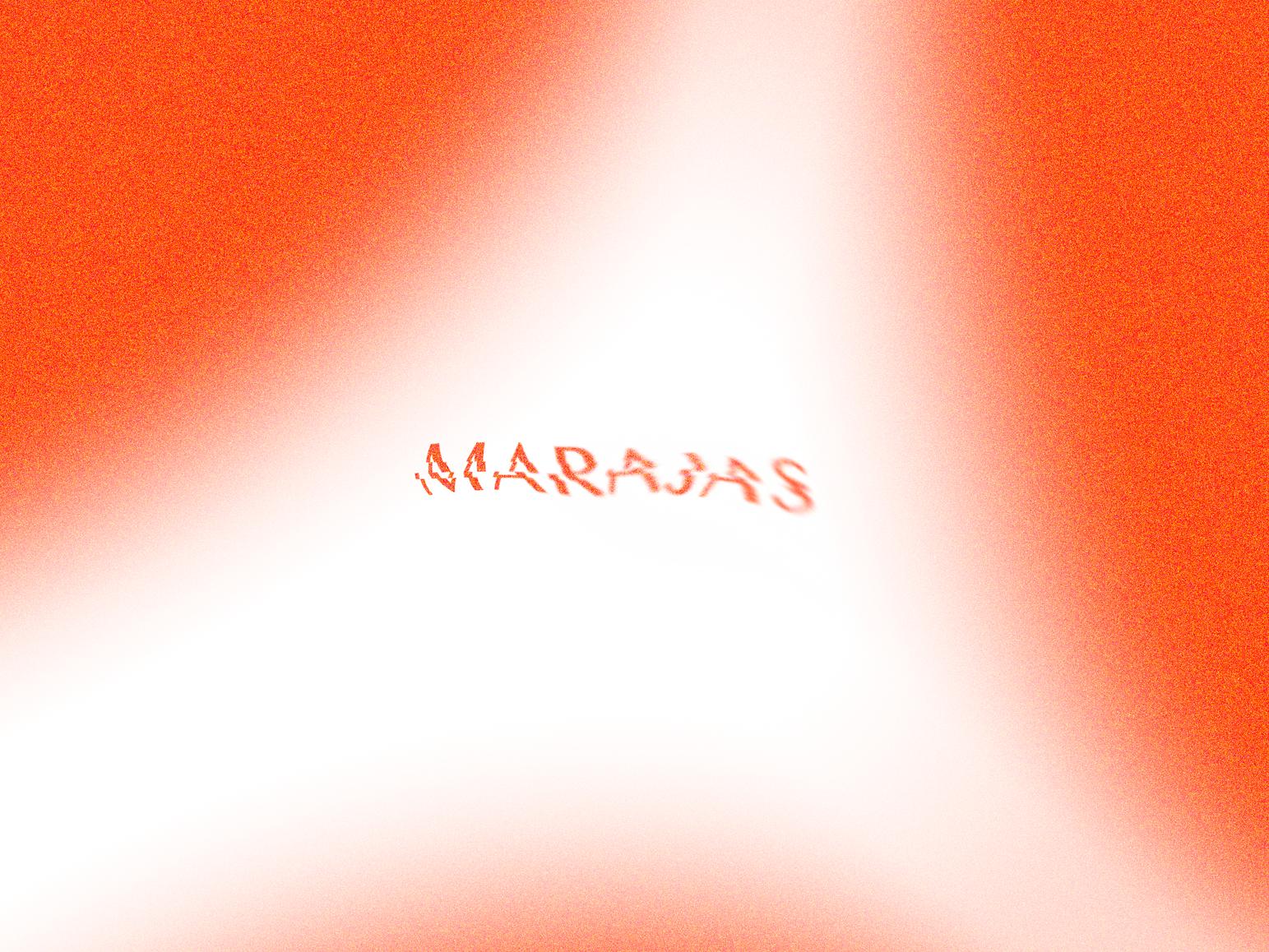 Marajas naming branding design logo
