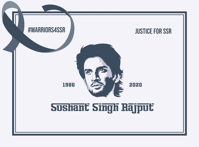 #Warriors4SSR justice sushant singh rajput second digital protest informed